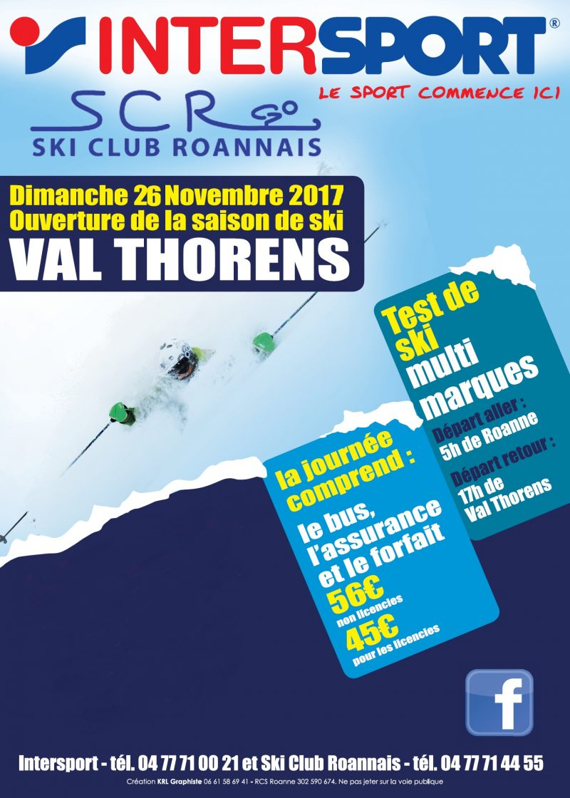 location ski roanne